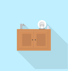 kitchen sink icon set of great flat icons use vector image