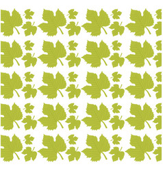 leave grape seamless pattern design vector image