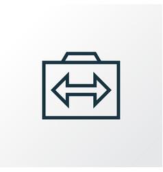 photography icon line symbol premium quality vector image