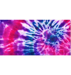 tie dye spiral shibori colorful abstract vector image
