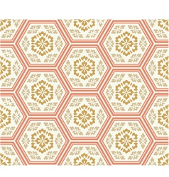 seamless chinese style fabric pattern vector image vector image