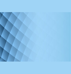 abstract blue gradient square shapes on background vector image