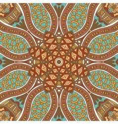 Abstract grunge ethnic seamless pattern ornament vector