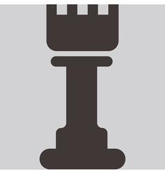 Chess icon vector