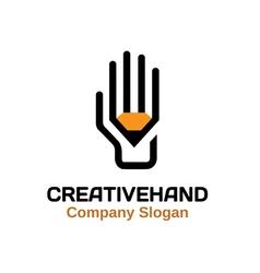 Creative hand Design vector
