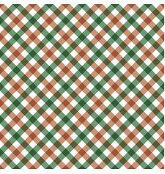 diagonal checkered plaid seamless pattern vector image