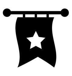 fairytale flag vector image