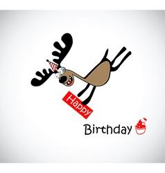 Happy Birthday to one vector image