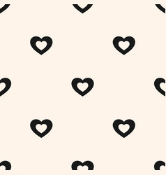 Hearts valentines day love sweet seamless pattern vector