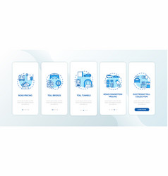 Toolways onboarding mobile app page screen vector