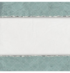 Border of torn old paper vector image vector image