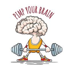 Pimp Your Brain vector image