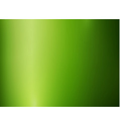 Abstract green metallic polished glossy color vector