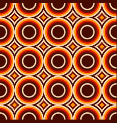 abstract seamless pattern of colorful circles vector image