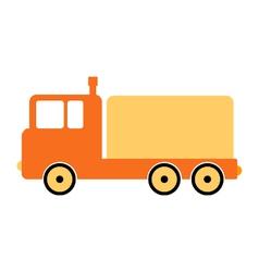 Cargo car symbol icon vector