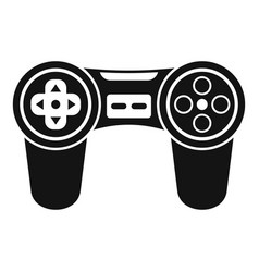 joystick icon simple style vector image