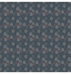 seamless pattern on blue background vector image
