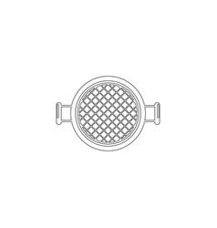 sieve flat icon vector image