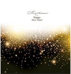 Sparkle christmas background vector image
