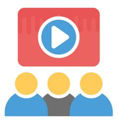 Virtual training vector