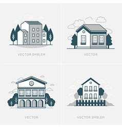 graphic design and logo design template vector image vector image