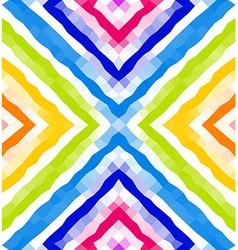 Seamless geometric pattern Colorful polygonal vector image