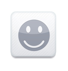 white smile icon Eps10 Easy to edit vector image vector image
