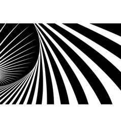 Abstract op art background vector image