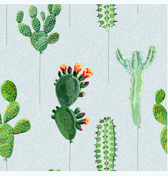 Balloons in form cactus vector