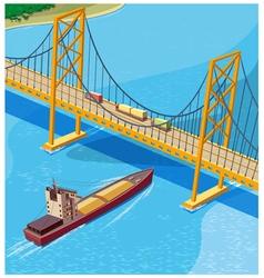 Bay Bridge vector image