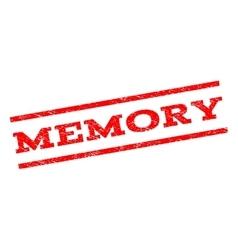 Memory watermark stamp vector