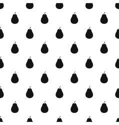 Pear pattern simple style vector image