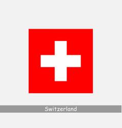 Switzerland swiss national country flag banner vector