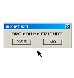 System message vector