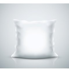 Isolated pillow vector