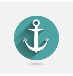 Anchor minimal Icon vector