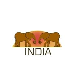 Elephant symbol logo concept vector