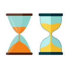 Hourglass icon transparent sandglass vector