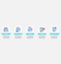 Mental health care infographic template vector
