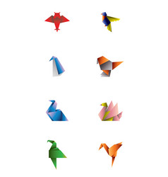 origami pack vector image