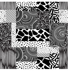 patchwork seamless texture vector image