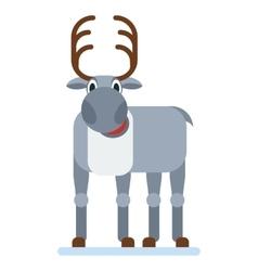 Reindeer of Santa Claus vector image
