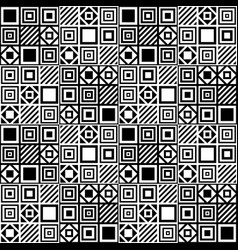 Simple seamless geometric pattern 2 vector