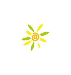 sun flower image vector image