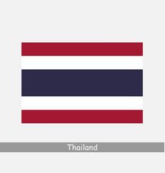 Thailand thai national country flag banner icon vector