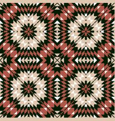 ethnic seamless geometric pattern vector image