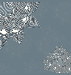 Floral design elements for page vector