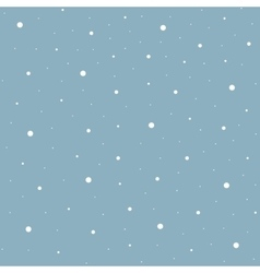 Heavy snowfall background vector image vector image