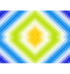 Polygonal mosaic with bright color ornament vector image vector image