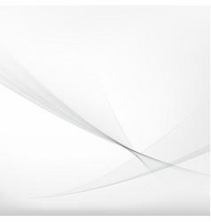 Abstract grey waves stream concept vector